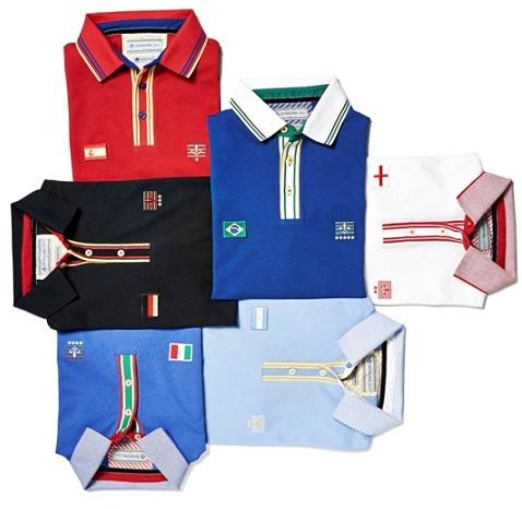 3893091d624 Nova coleção da DUDALINA traz camisas inspiradas na Copa do Mundo